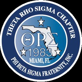 Theta Rho Sigma Logo
